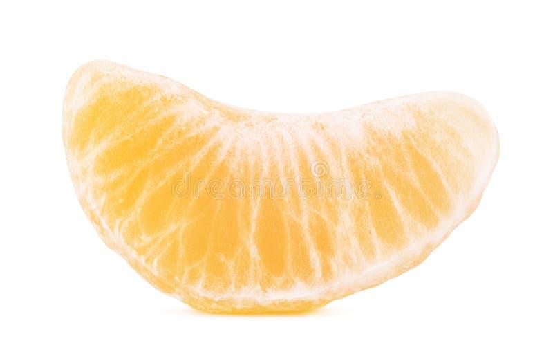 Свежий ломтик мандарина стоковое изображение rf