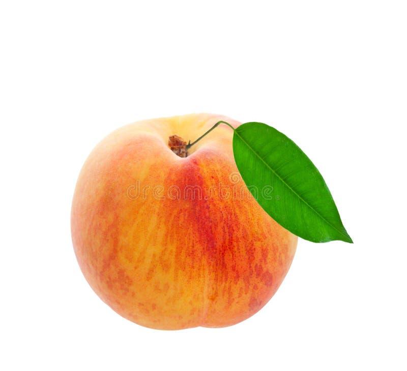 Свежий персик стоковая фотография