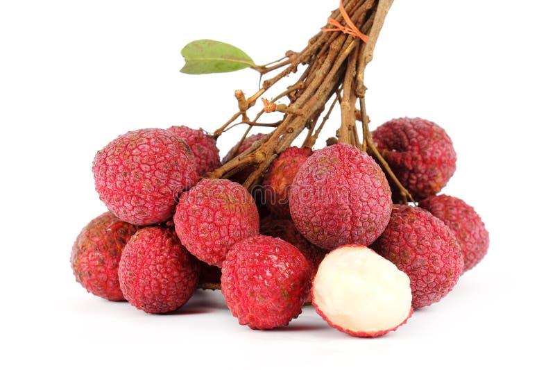 Свежий плодоовощ lychees стоковое фото
