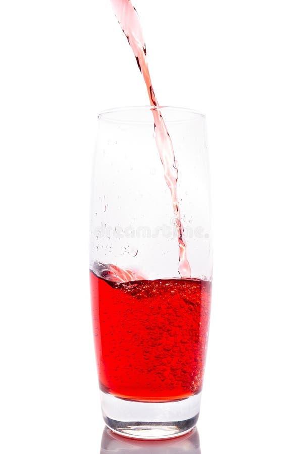 Свежий сок клубники стоковая фотография