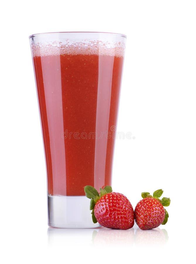 Свежий сок клубники стоковая фотография rf