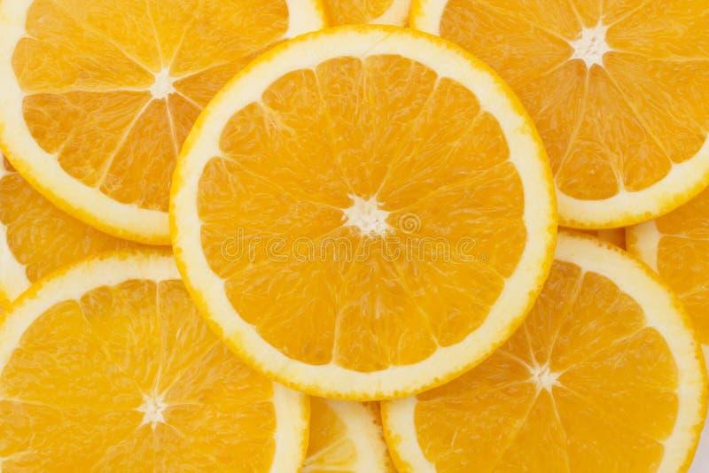 Свежий сочный апельсин стоковое изображение