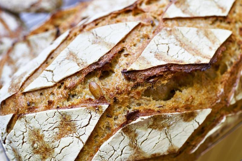 Свежий хлеб с коркой стоковая фотография