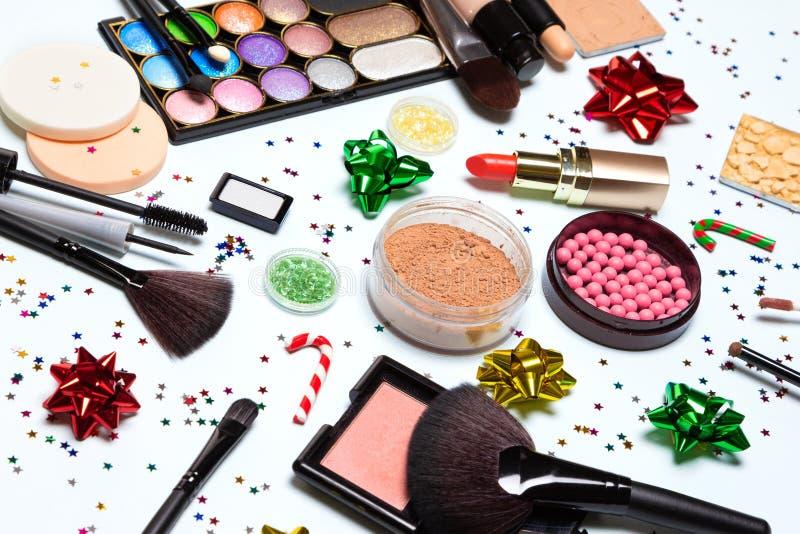 Сверкнать партии рождества или Нового Года яркий составляет стоковая фотография rf