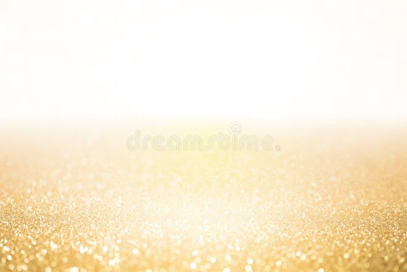 Сверкная предпосылка золота блестящая стоковая фотография