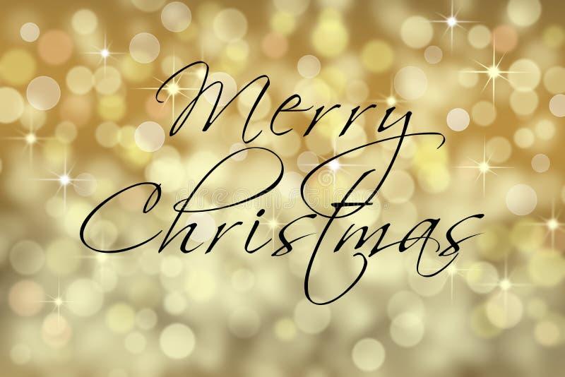 Сверкная с Рождеством Христовым карточка текста стоковые изображения