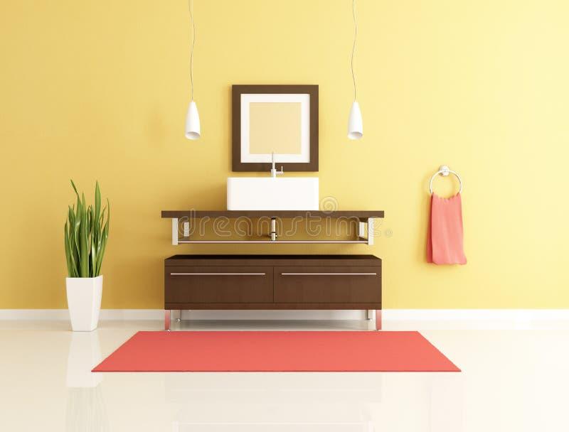 сверстница ванной комнаты бесплатная иллюстрация