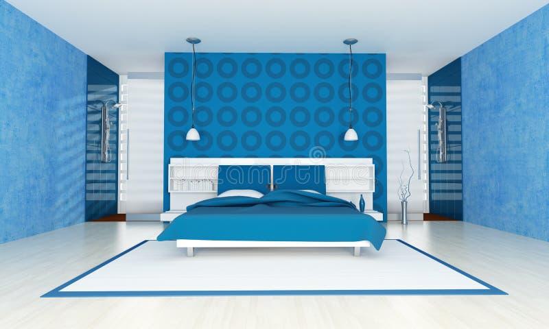 сверстница спальни голубая бесплатная иллюстрация