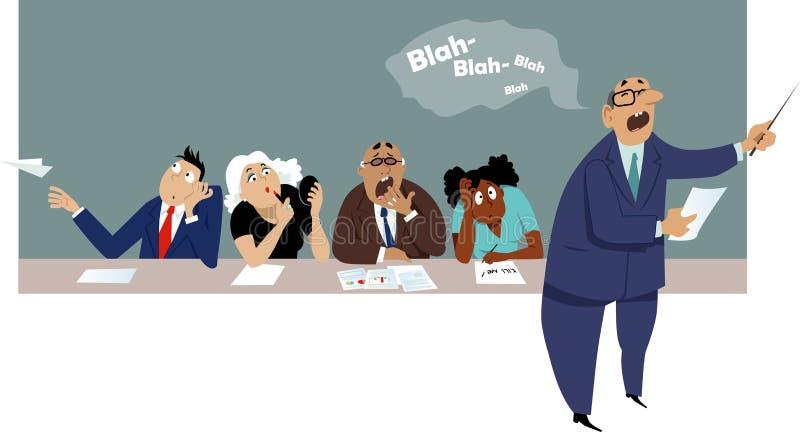 Сверлильная деловая встреча бесплатная иллюстрация