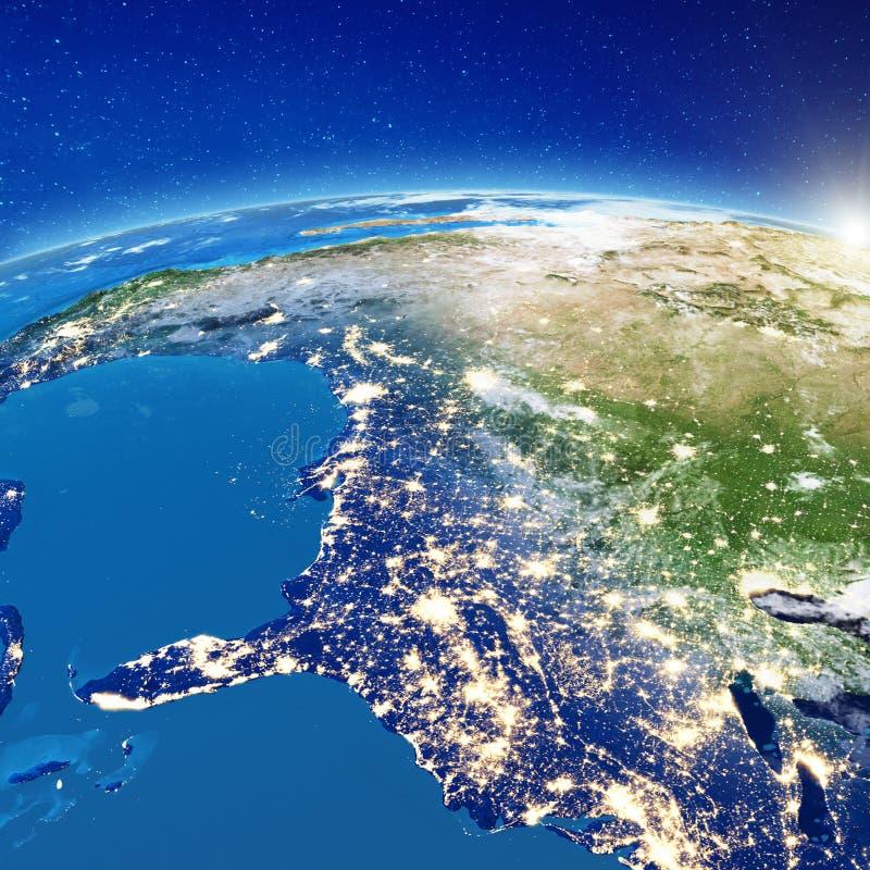 Света города Америки - Соединенных Штатов бесплатная иллюстрация