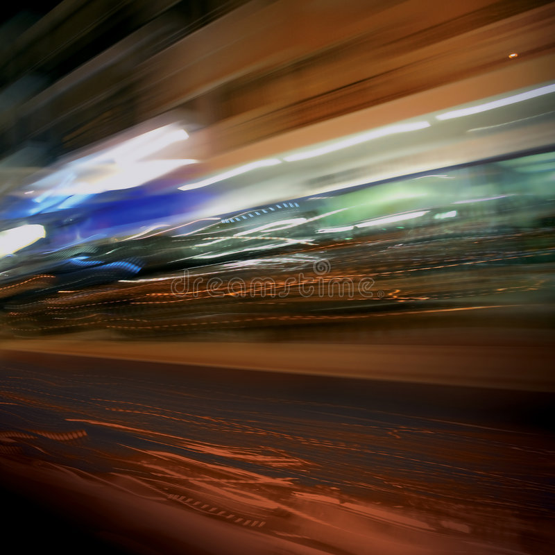 света города стоковая фотография rf