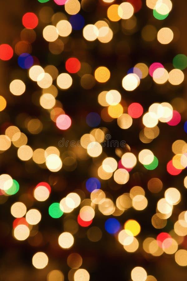 света запачканные конспектом стоковое изображение rf