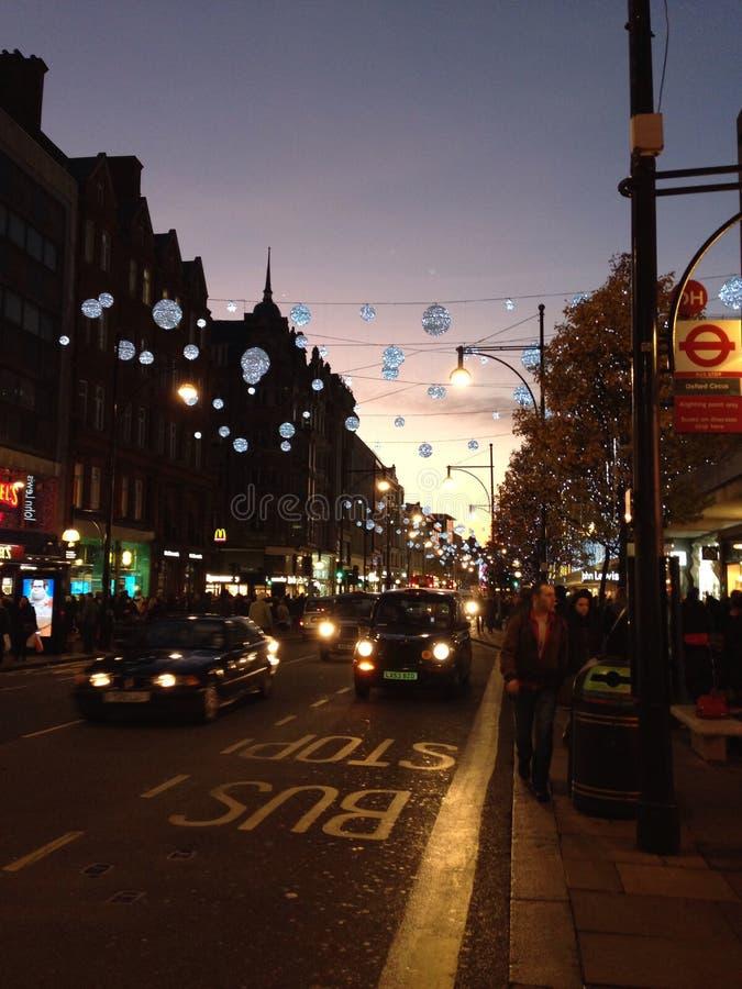 Света Лондона стоковое фото