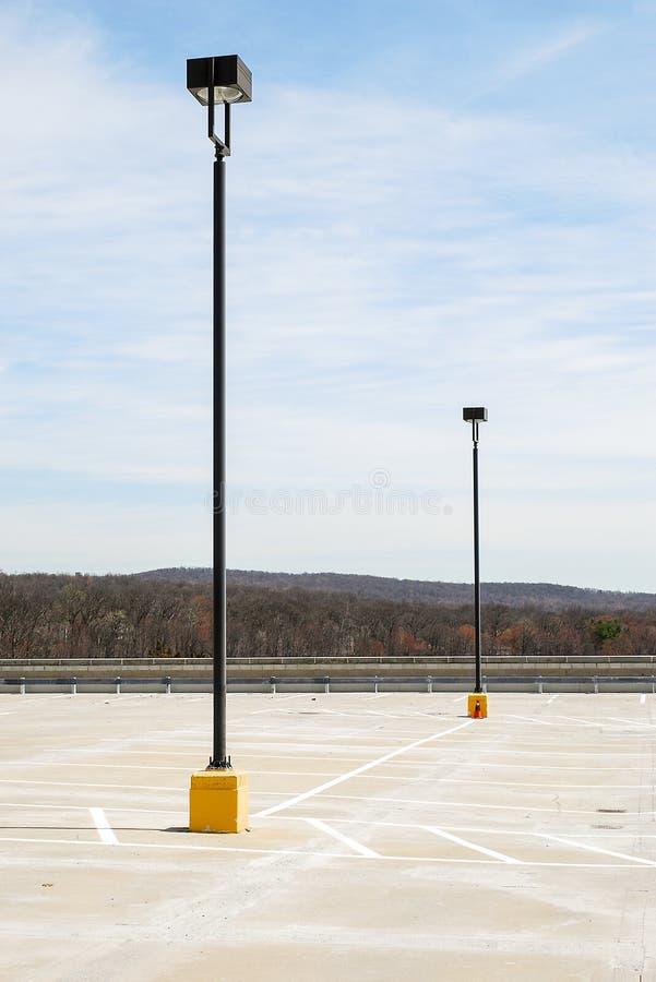 Света места для стоянки стоковая фотография rf