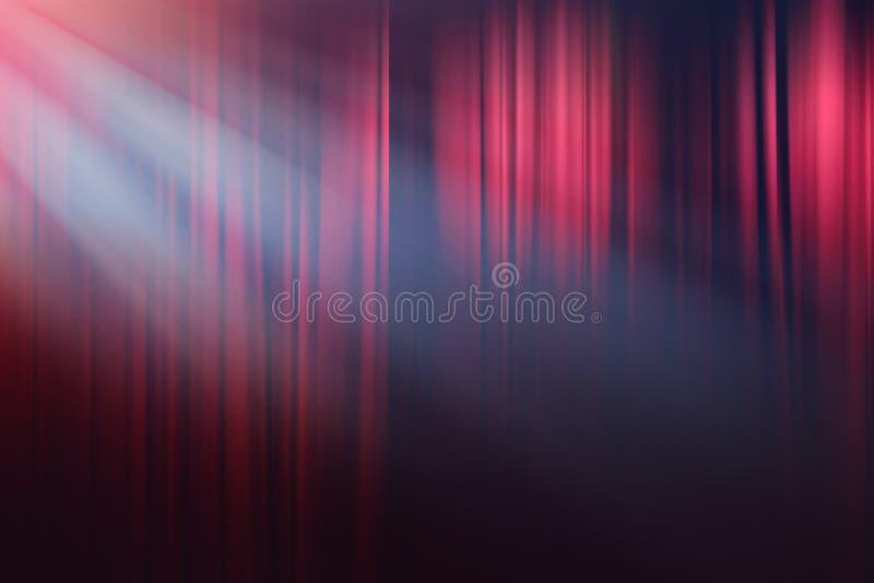 Света на этапе, предпосылке выставки театра драмы стоковая фотография rf