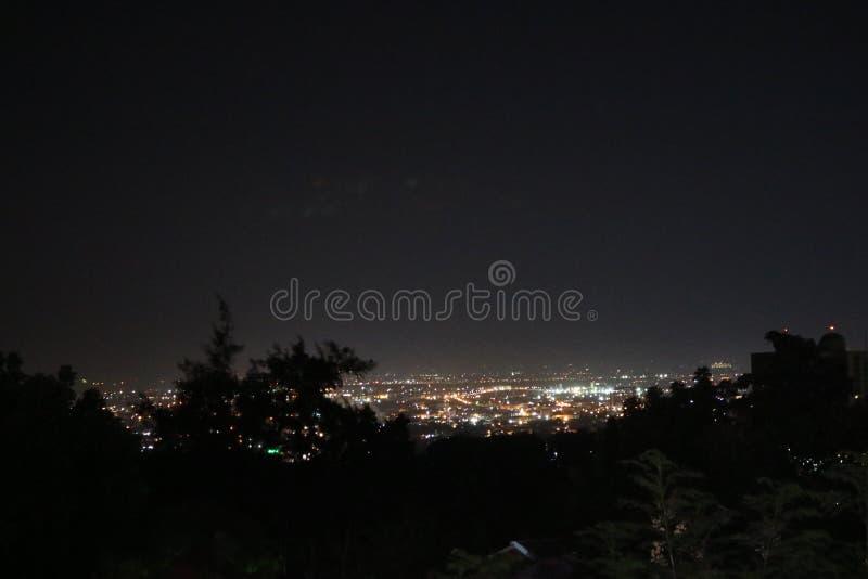 Света ночи стоковое фото rf