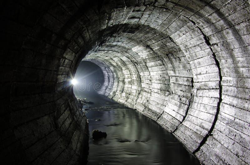 Света подземного реки стоковая фотография rf