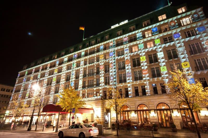 света празднества berlin стоковые фотографии rf