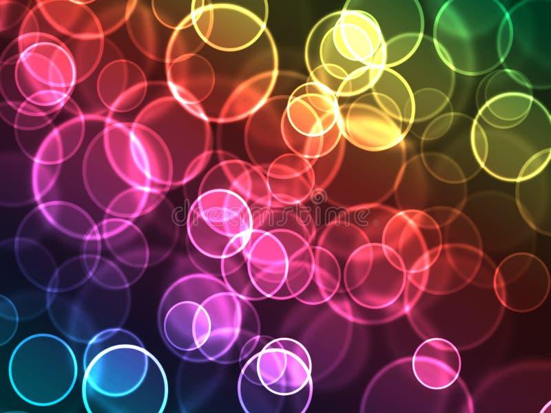 света праздника предпосылки красивейшие иллюстрация вектора