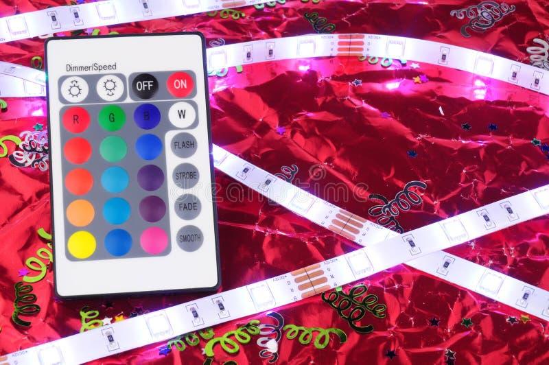 Света прокладки СИД гибкие стоковая фотография rf