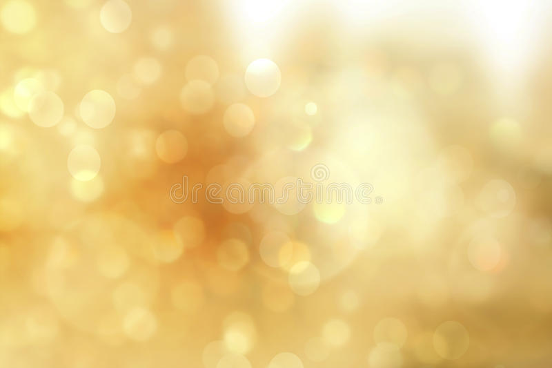 Света рождества золота Предпосылка Bokeh рождества мягкая роскошная стоковое изображение