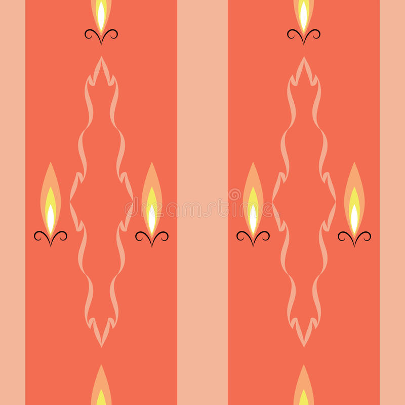 Download Света свечи иллюстрация вектора. иллюстрации насчитывающей панель - 41653646