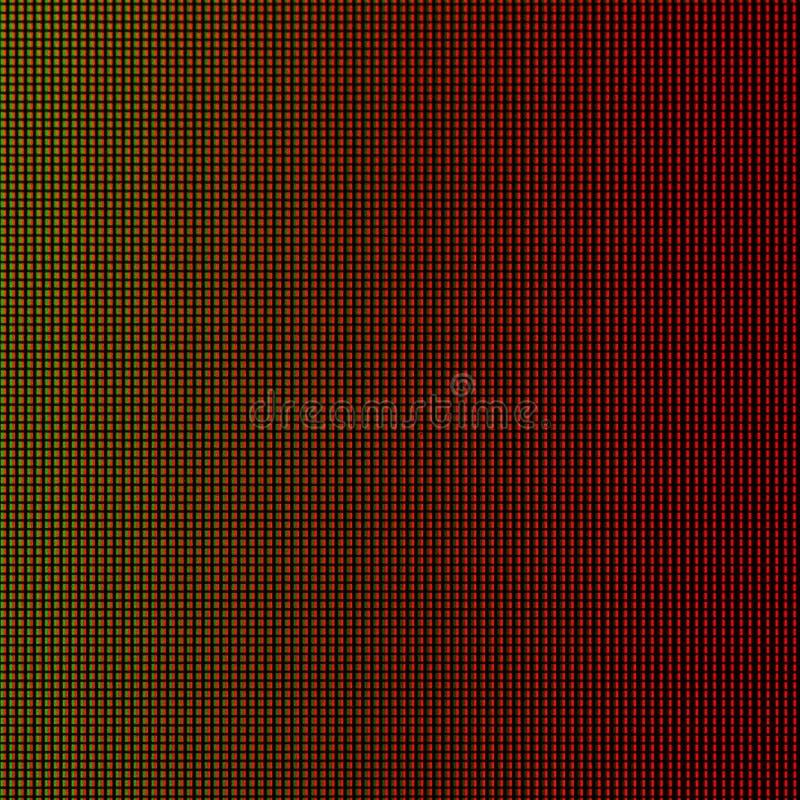 Света СИД от панели экранного дисплея монитора компьютера СИД для графического шаблона вебсайта дизайн электричества или технолог стоковые фото