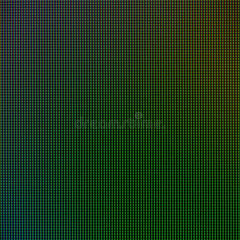 Света СИД от панели экранного дисплея монитора компьютера СИД для графического шаблона вебсайта дизайн электричества или технолог стоковая фотография rf