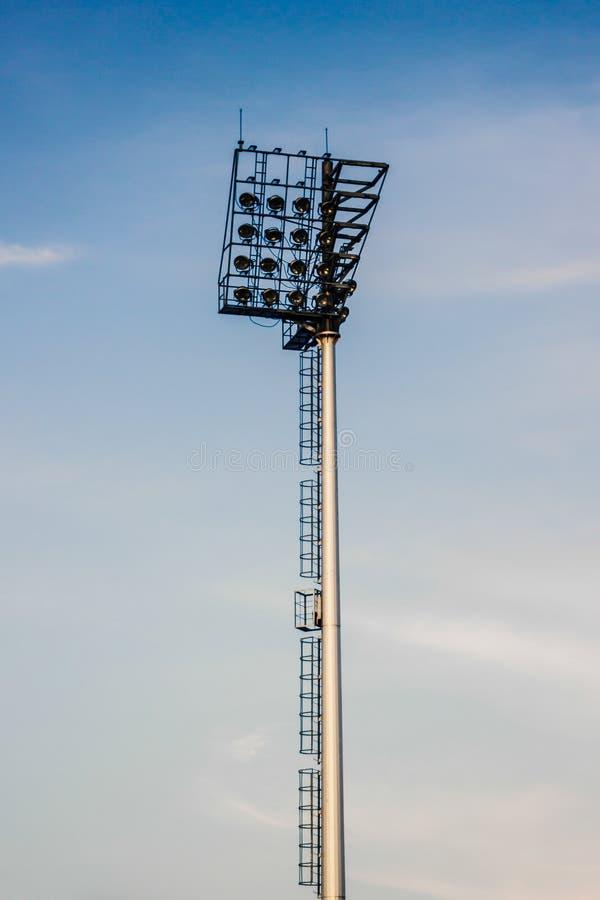 Света стадиона стоковая фотография