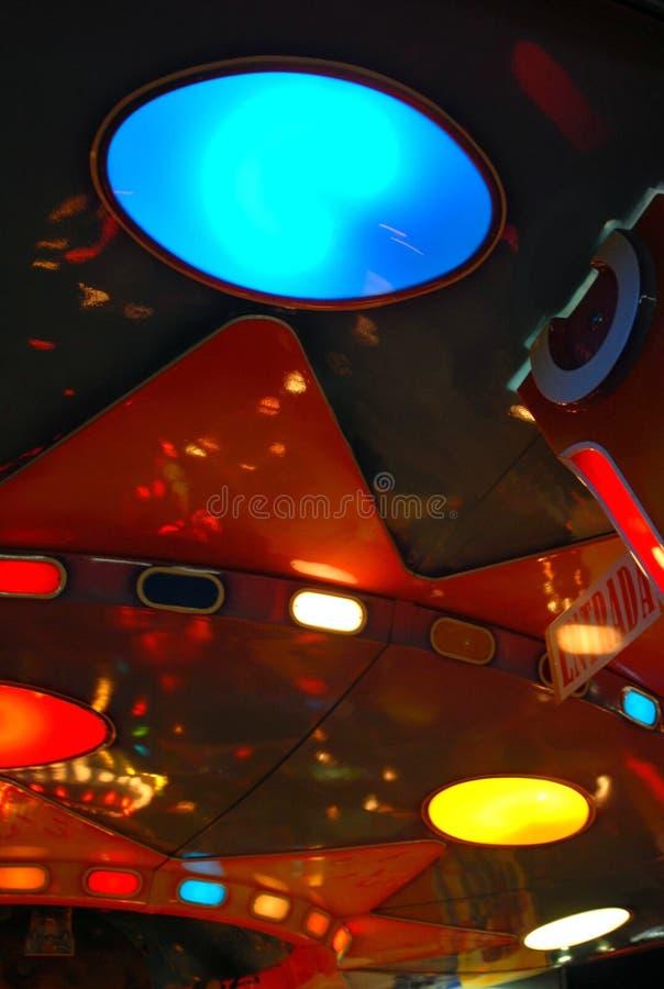 света цвета округлили стоковое фото rf