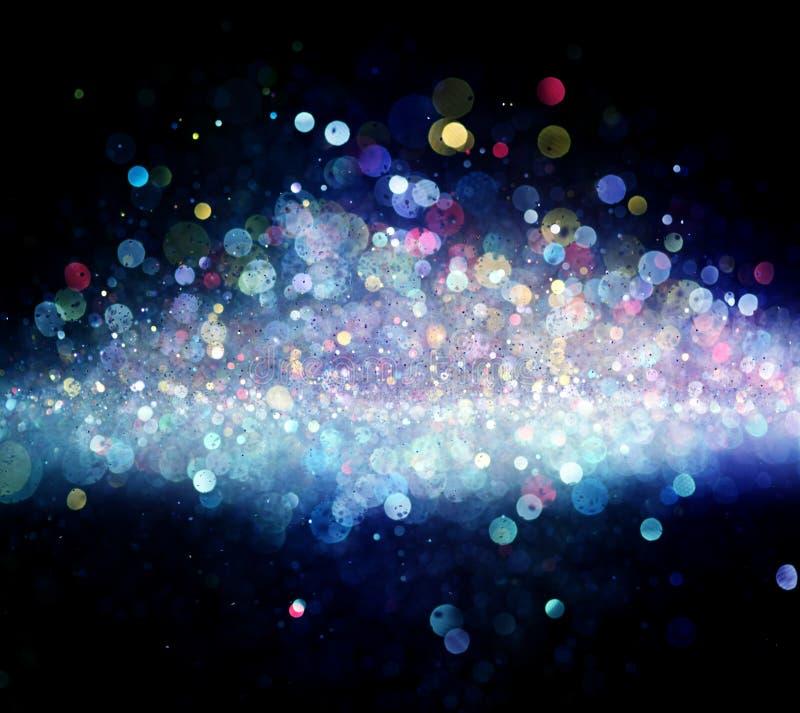 света энергии предпосылки голубые иллюстрация вектора