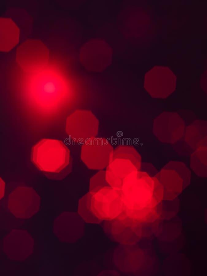 Света difuse Abststract покрашенные красным цветом стоковое фото rf