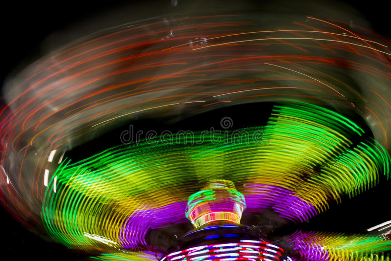 Света Luna Park стоковая фотография