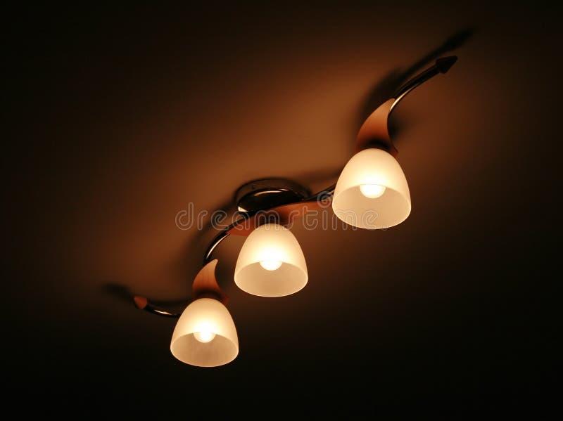 светильники стоковое изображение