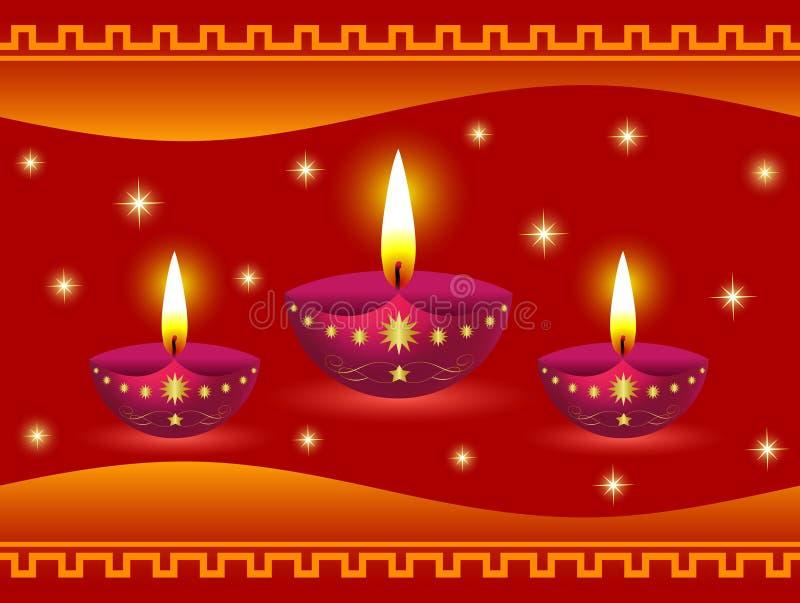 светильники diwali накаляя бесплатная иллюстрация