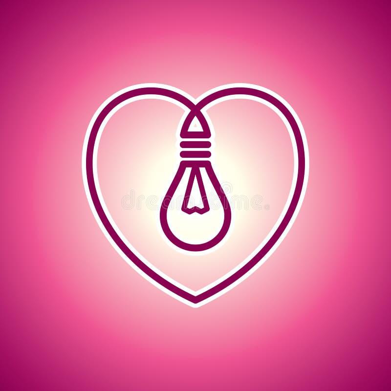 Светильник Валентайн бесплатная иллюстрация
