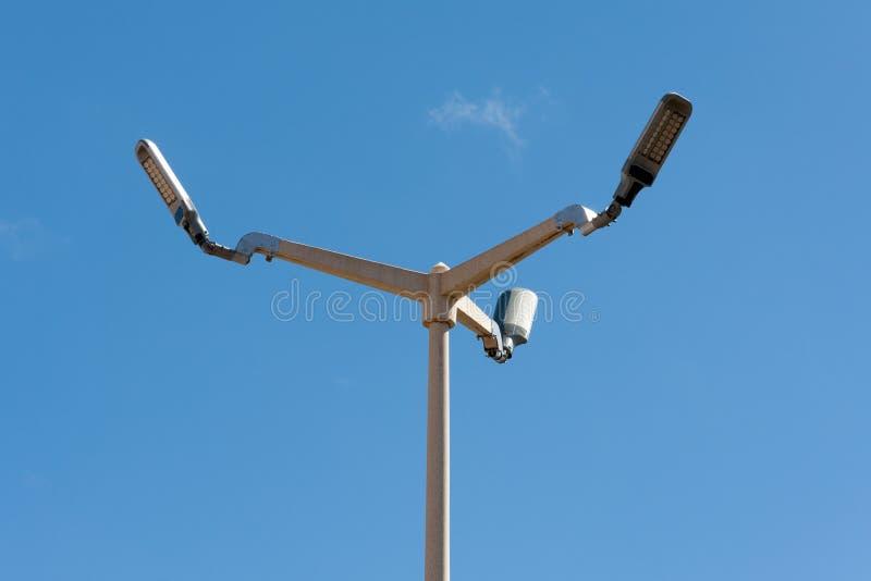 светильник вел улицу стоковая фотография rf