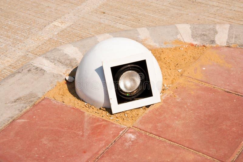 светильник галоида стоковое фото