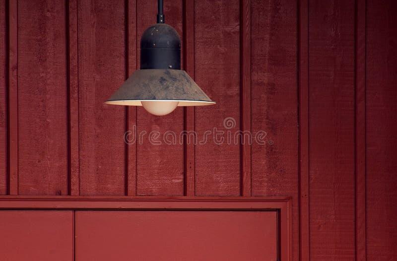 светильник двери амбара стоковое изображение rf