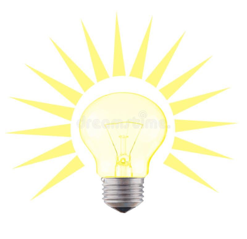 светильник зарева стоковые фото