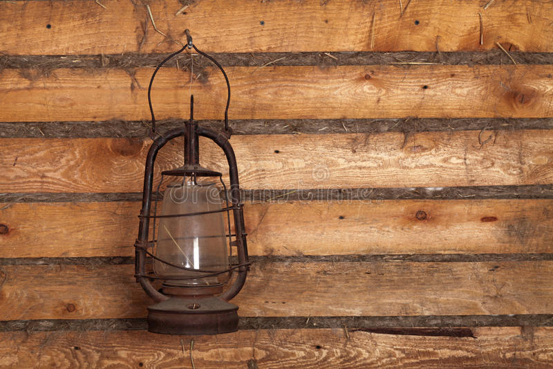 светильник старый стоковые изображения rf