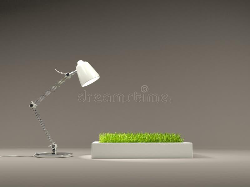 светильник травы