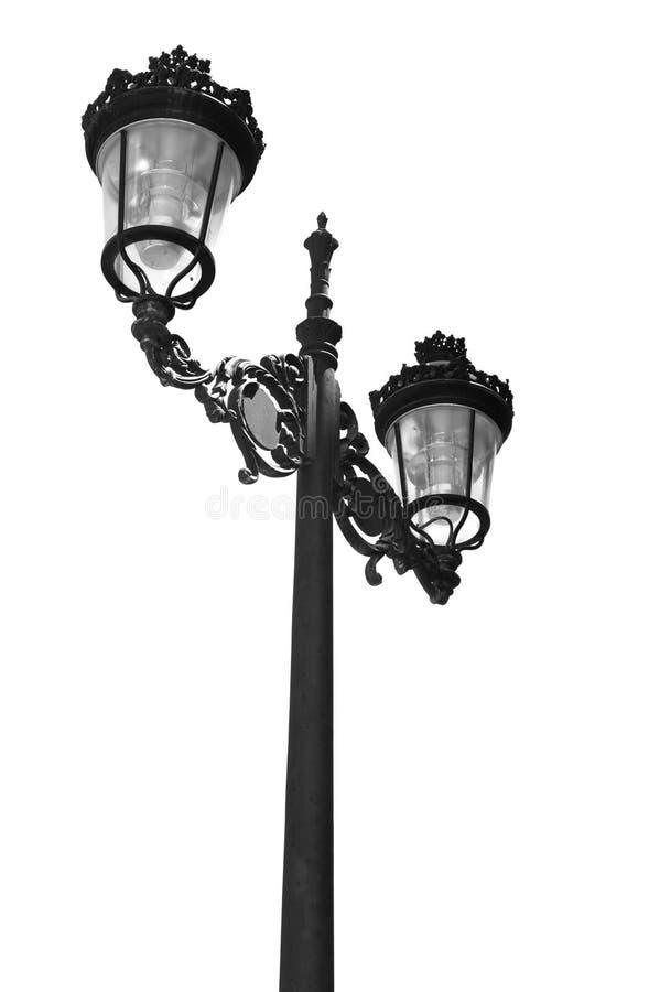светильник bw стоковое изображение rf