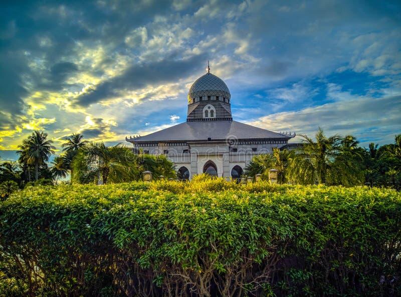 Светить на Masjid стоковое фото rf