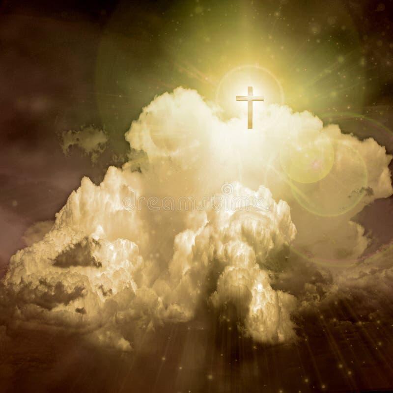 светлая духовность иллюстрация вектора