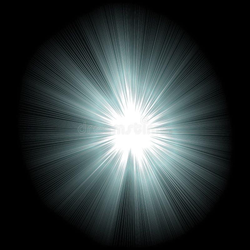 светлая звезда иллюстрация штока