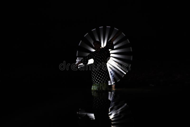 Светлая картина - на деревне nimdari Индии стоковые изображения