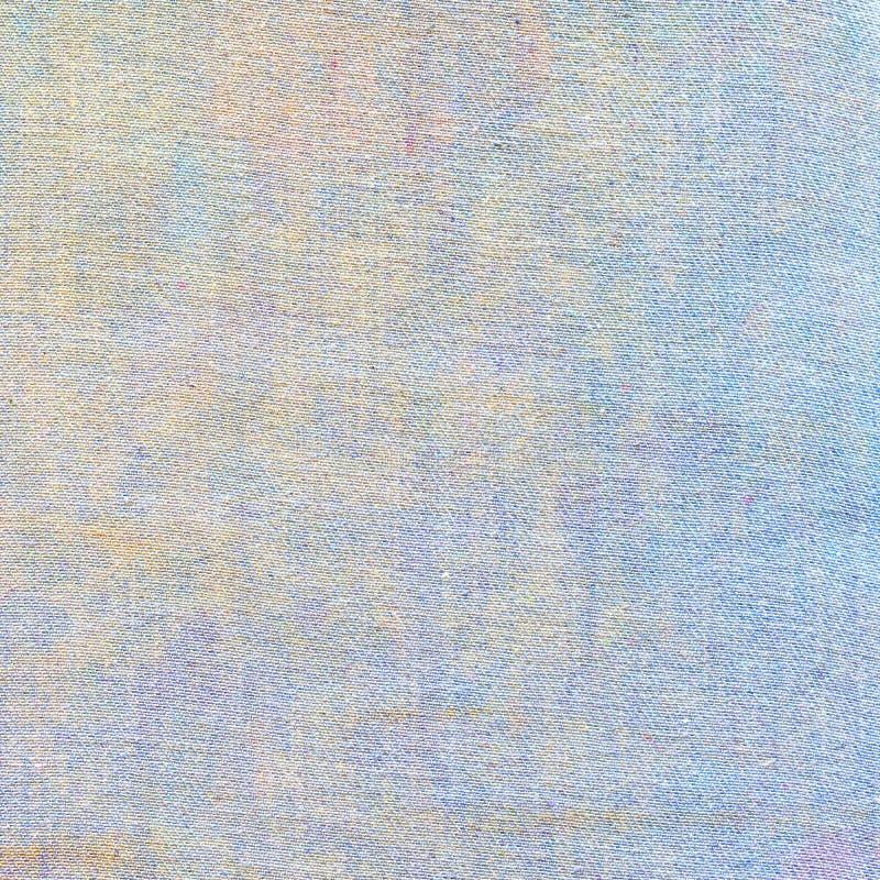 Светлая предпосылка текстуры джинсов Белый холст цвета стоковое фото rf