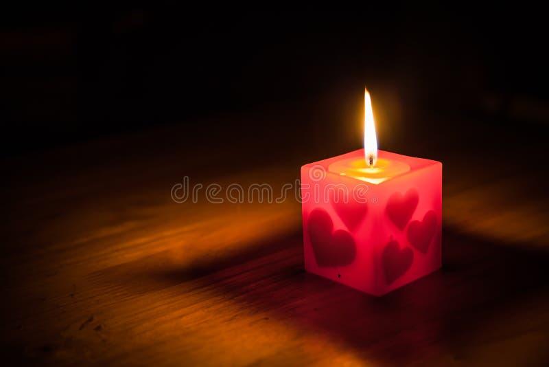 Светлая свечка стоковые изображения