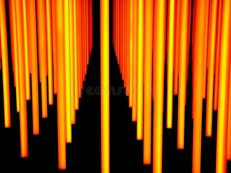 светлая скульптура стоковая фотография